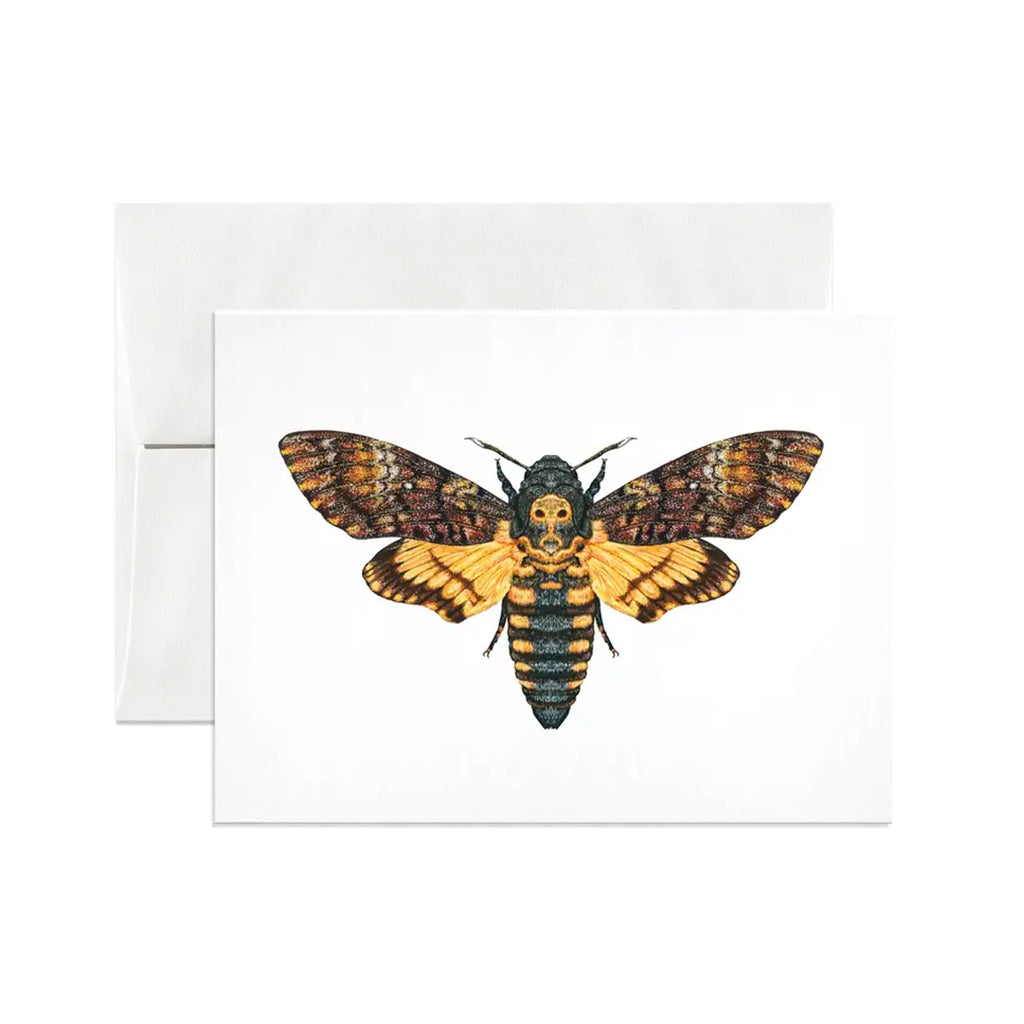 Death's-Head Hawkmoth Card
