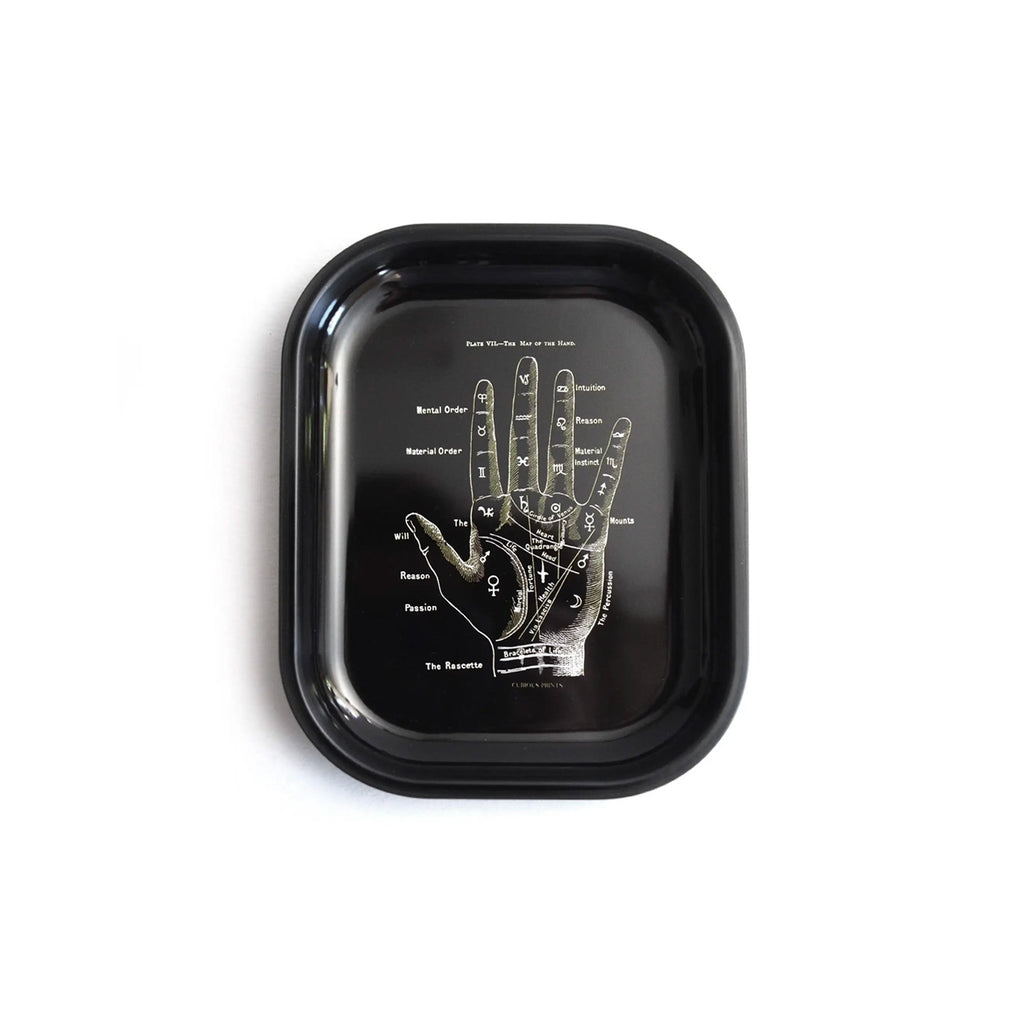 Palmistry Ritual Small Metal Tray