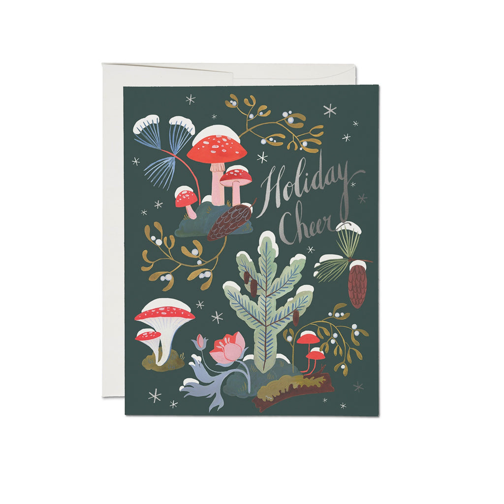 Holiday Cheer Fungi & Flora Card