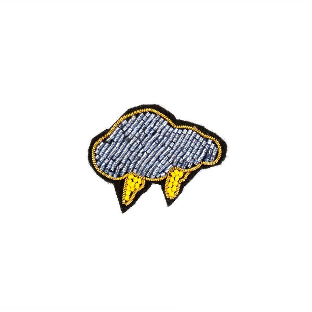 Storm Cloud Patch Pin