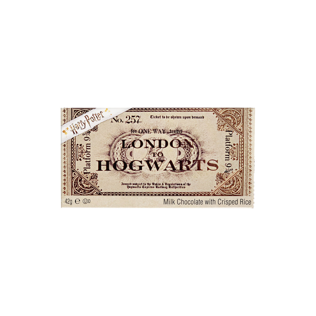 Chocolate Hogwarts Express Train Ticket