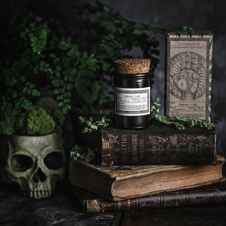 NOIR: Fortune + Fate Apothecary Candle