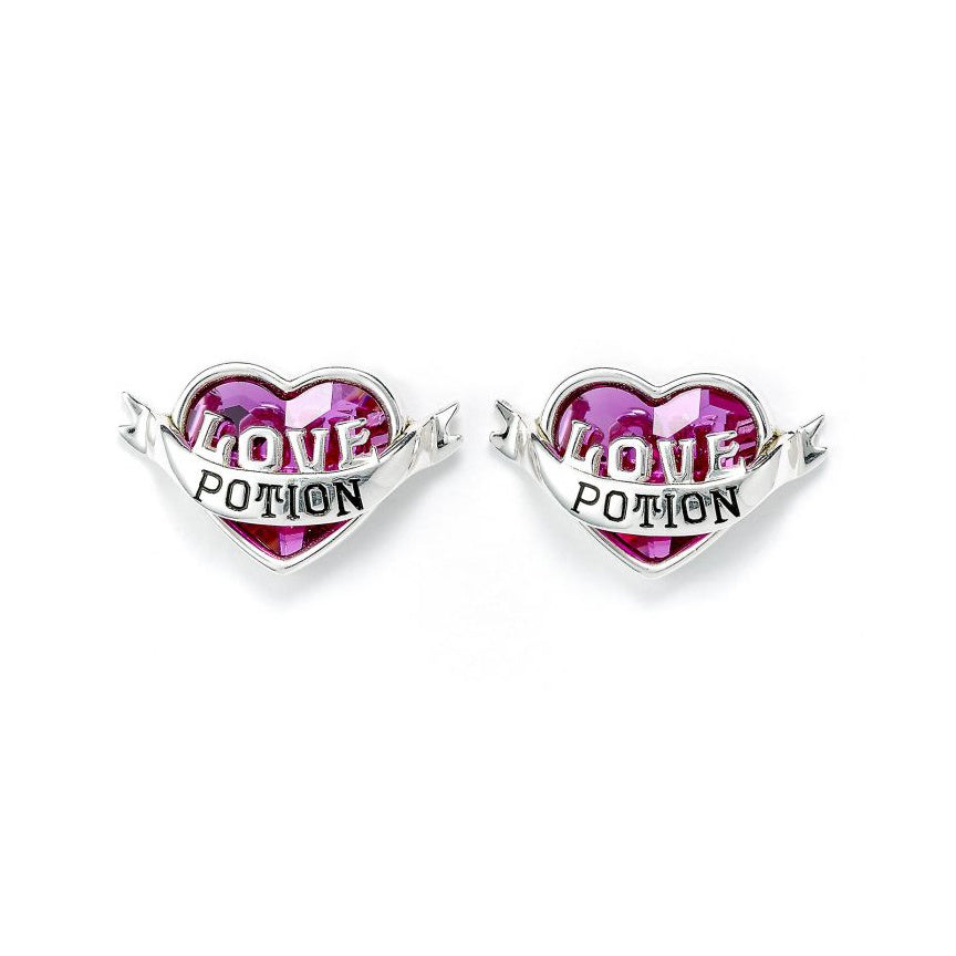 Sterling Silver Swarovski Love Potion Earrings