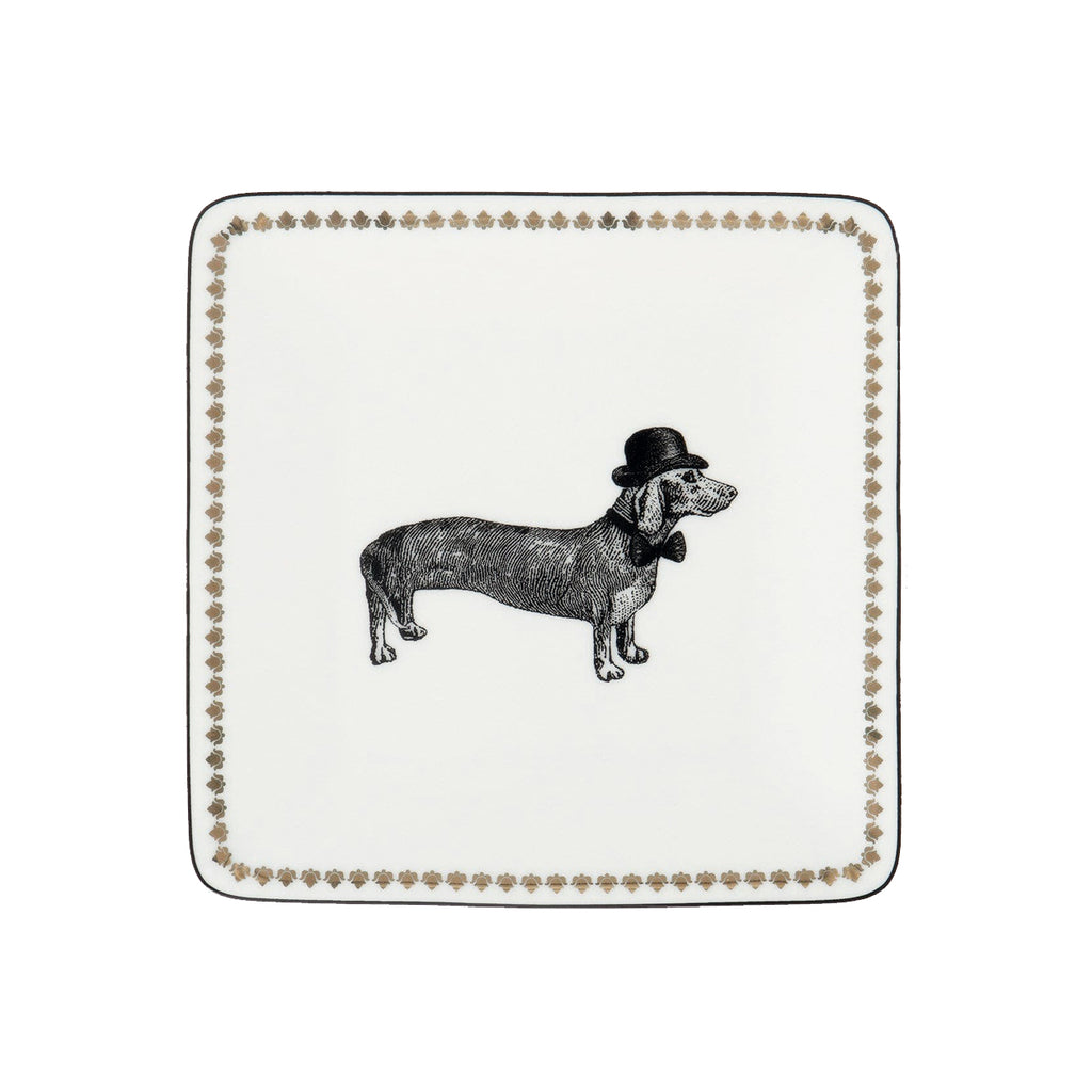Alice Scott Porcelain Square Tray