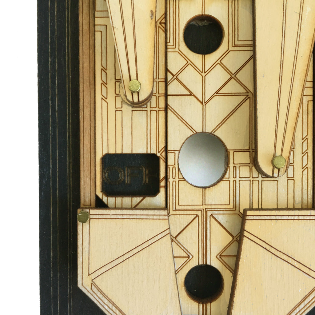 Art Deco Rig Switch Plate