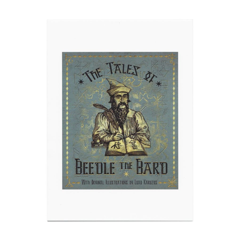 The Tales of Beedle the Bard Notecard