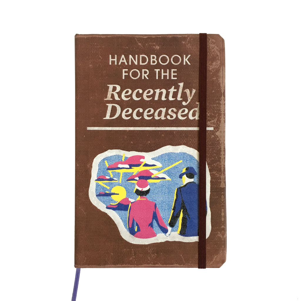 Beetlejuice Journal -  Handbook for the Recently Deceased