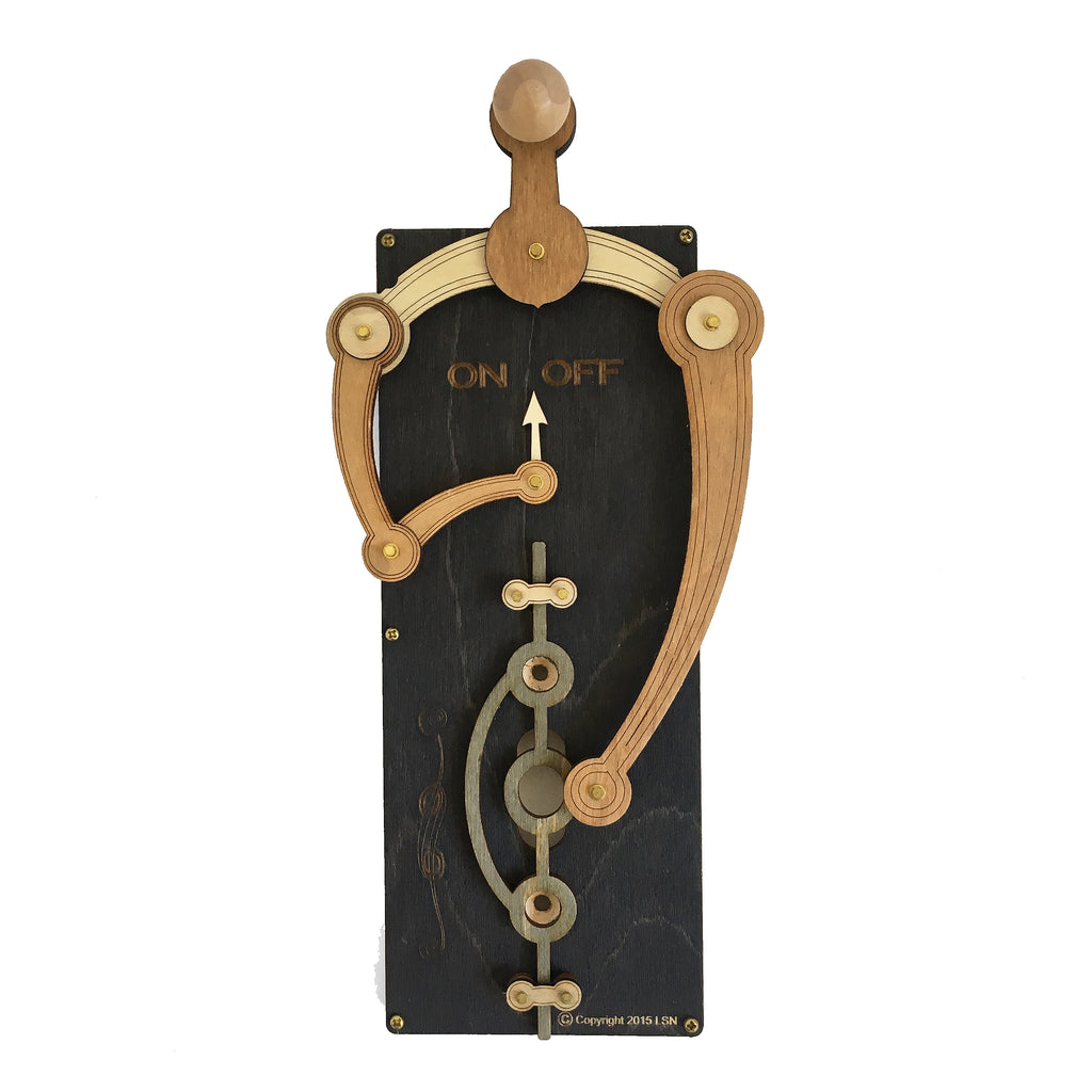 Black Toggle Light Switch Plate