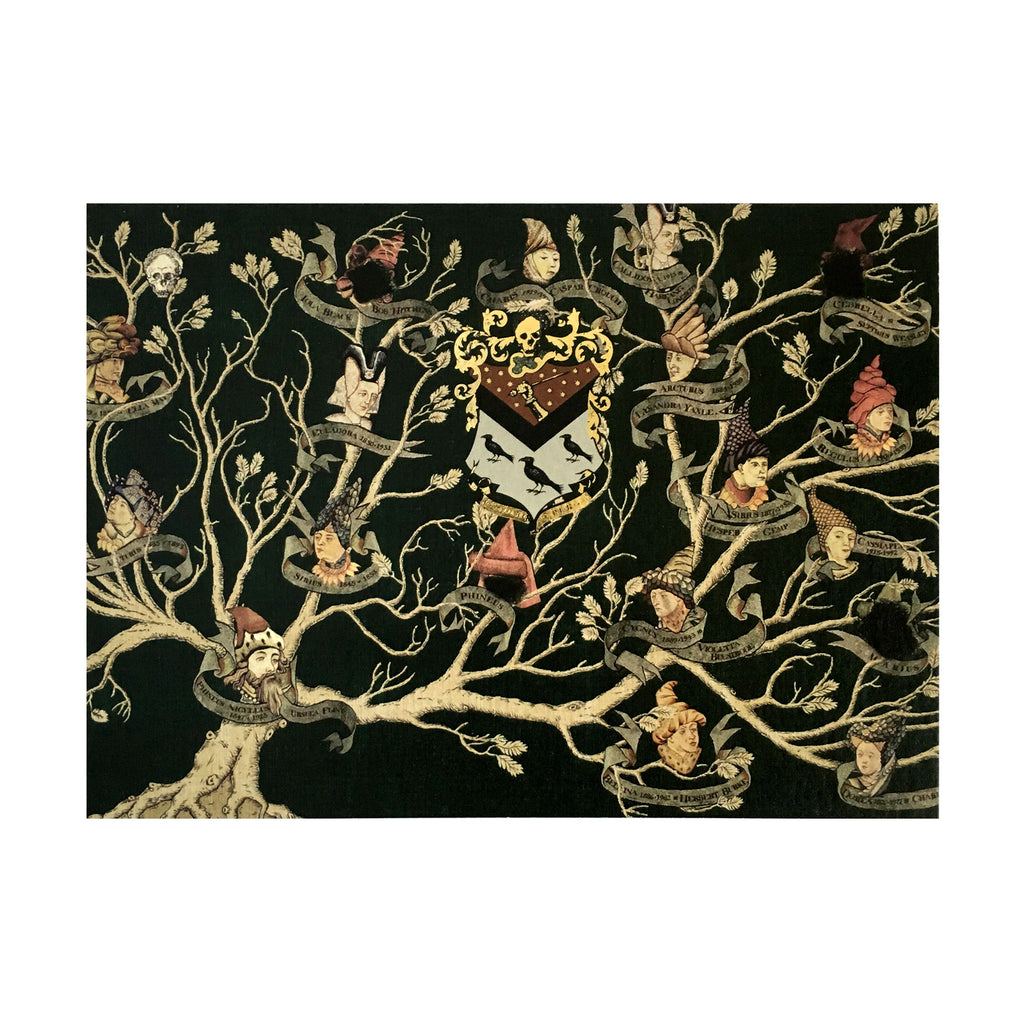 Black Family Tapestry Notecard