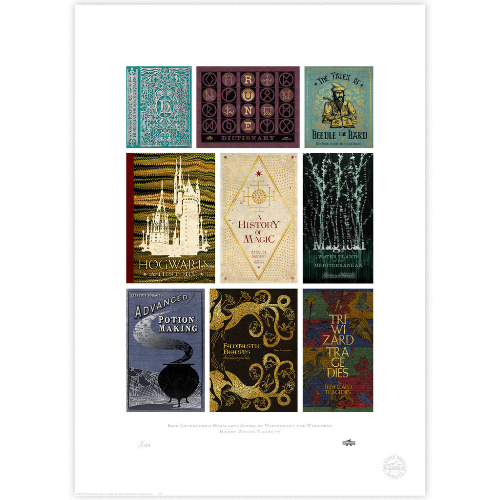 Hogwarts Book Covers Compilation