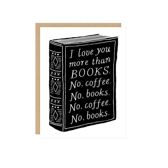 Books & Coffee Card