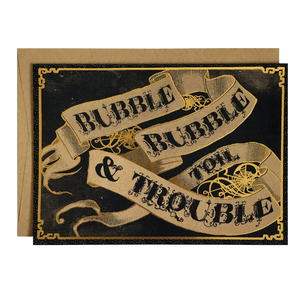 Bubble, Bubble, Toil and Trouble Card
