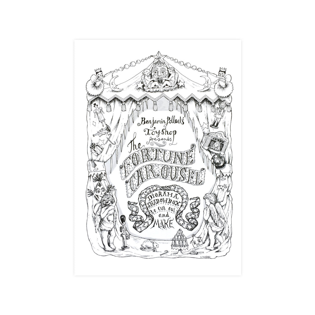 Benjamin Pollock's Shadow Box - Fortune Carousel