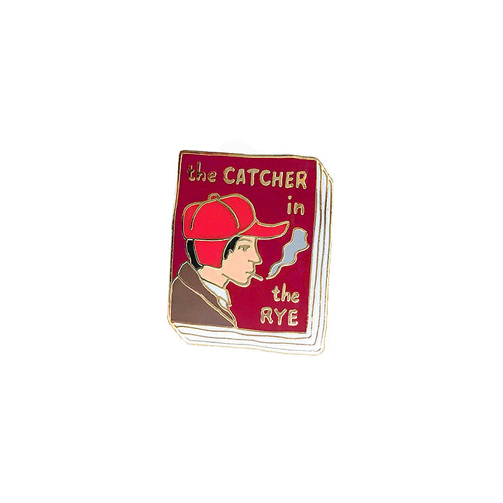 Book Pin - The Catcher in the Rye