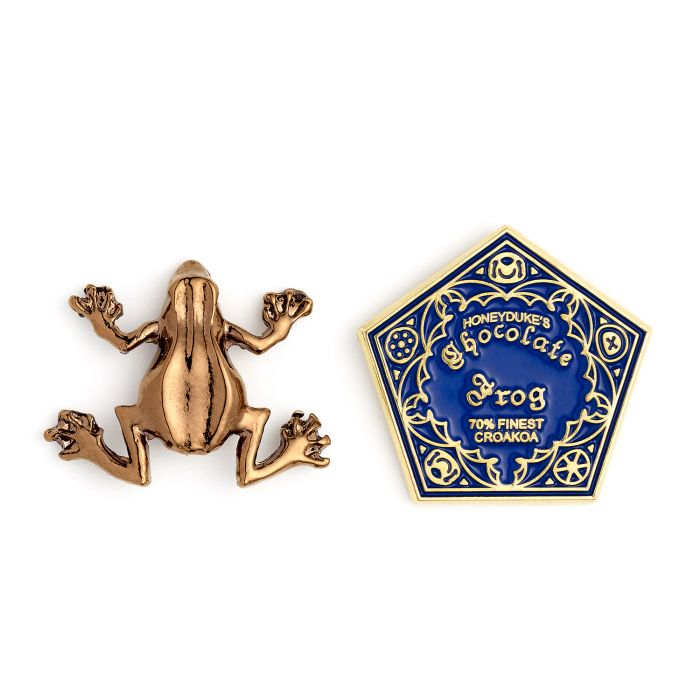 Chocolate Frog Pin Badge - 2pk