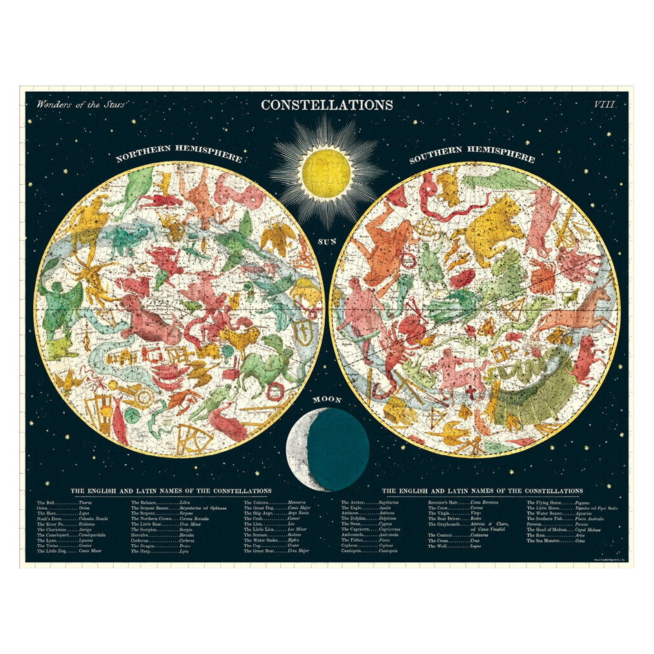 Constellations Puzzle