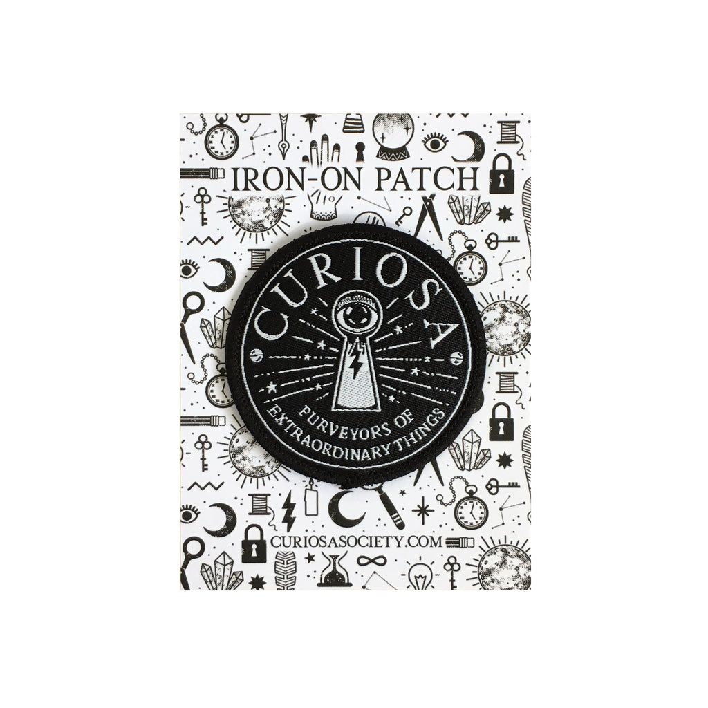Curiosa Iron-On Patch