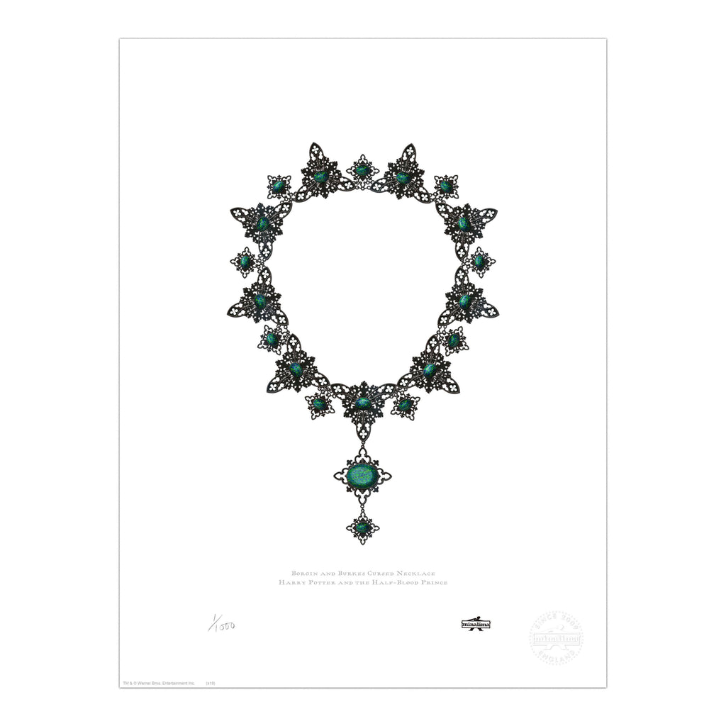 Borgin & Burkes Cursed Necklace Print
