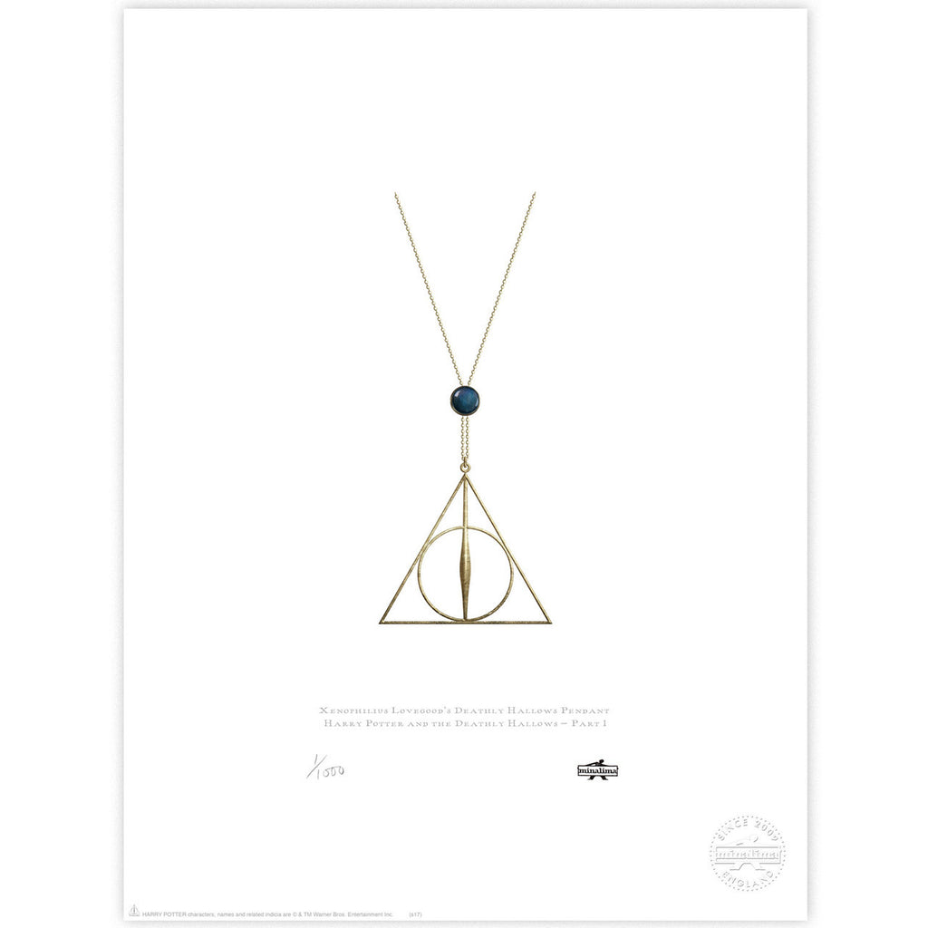 Xenophilius Lovegood's Deathly Hallows Pendant
