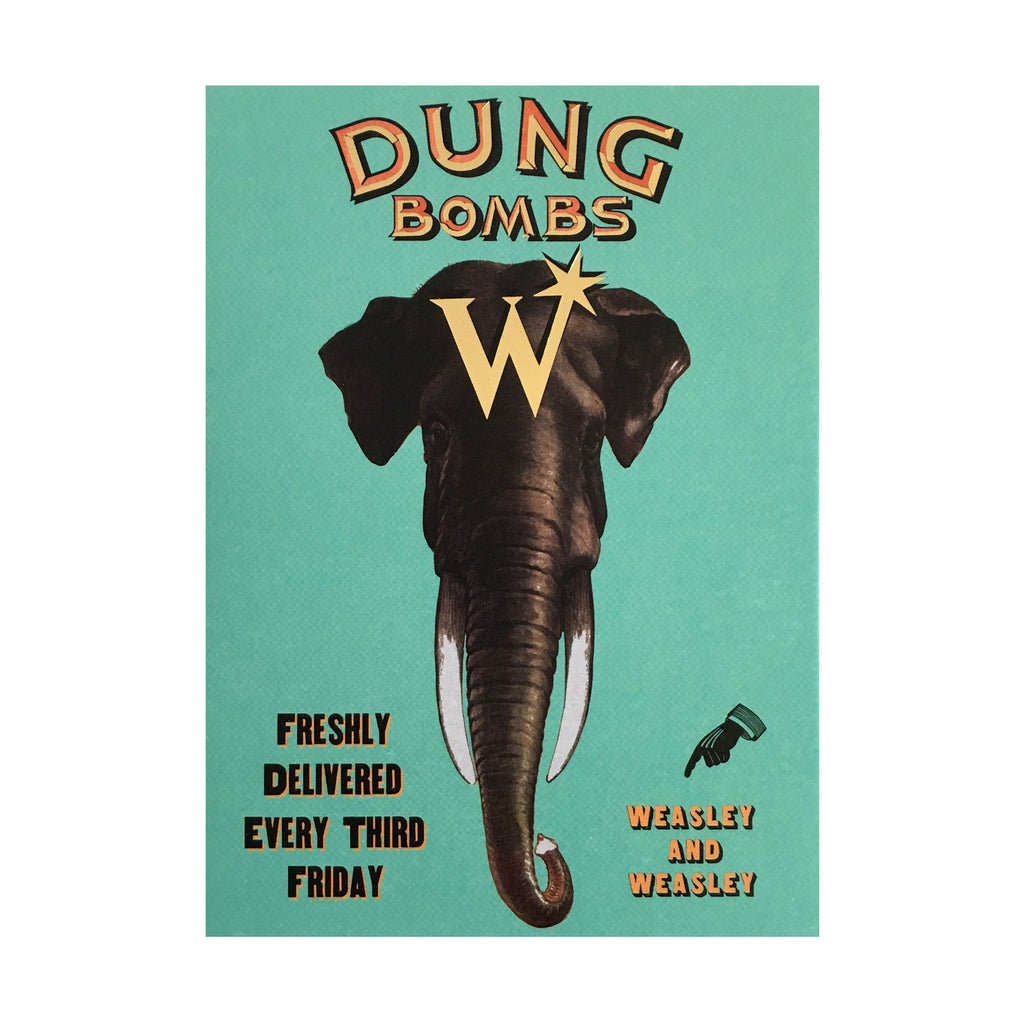 Dung Bombs Notecard