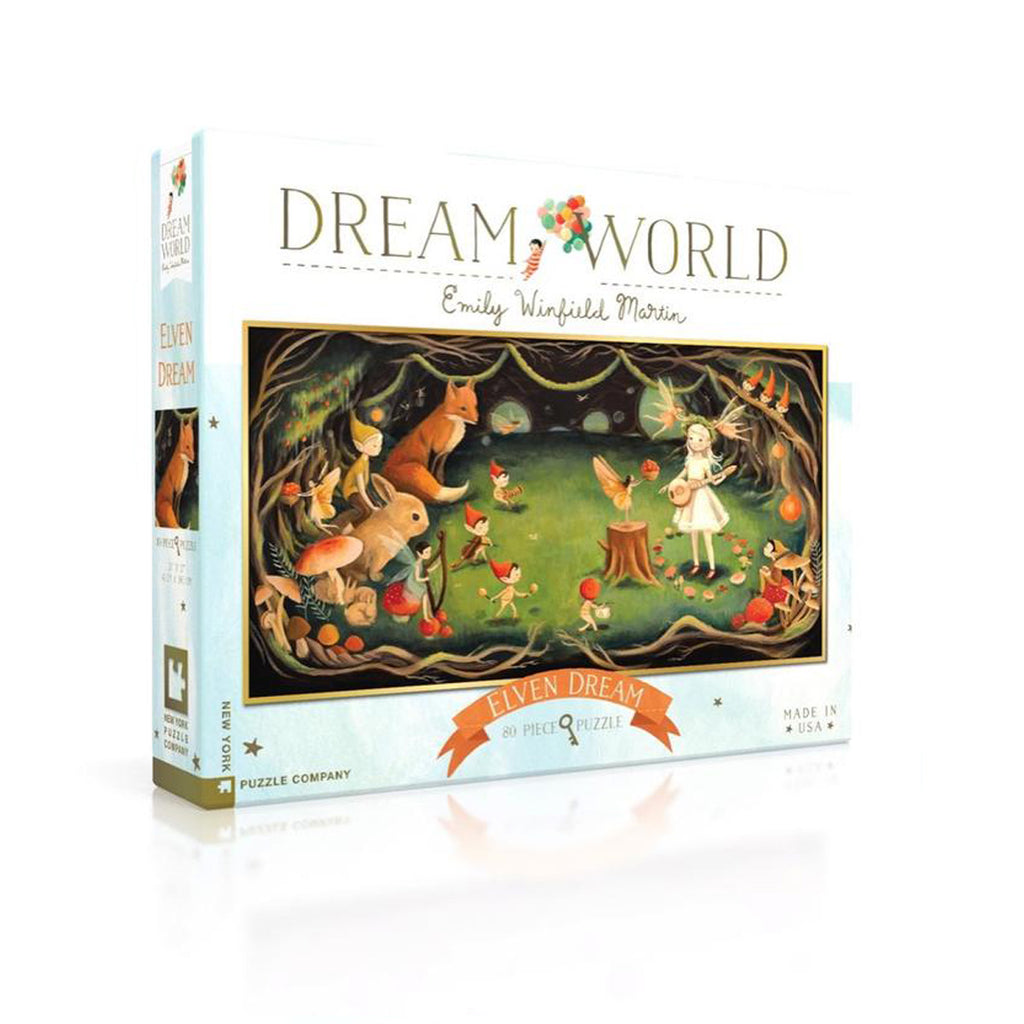 Elven Dream, 80 Piece Puzzle