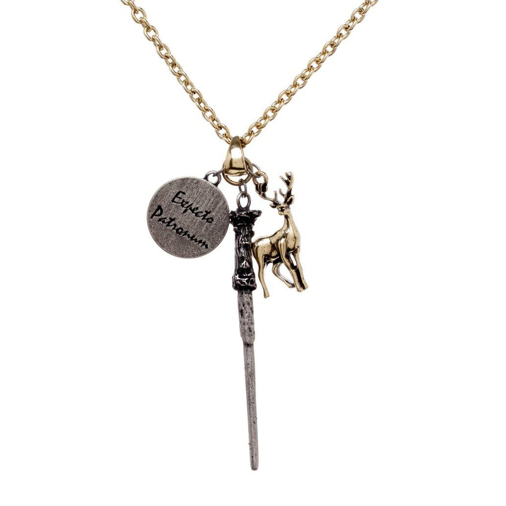 Expecto Patronum Wand Necklace