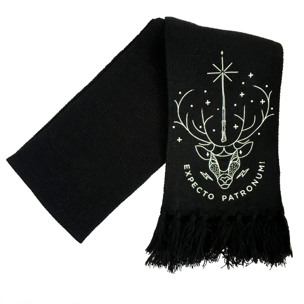 Expecto Patronum Glow-In-The-Dark Scarf