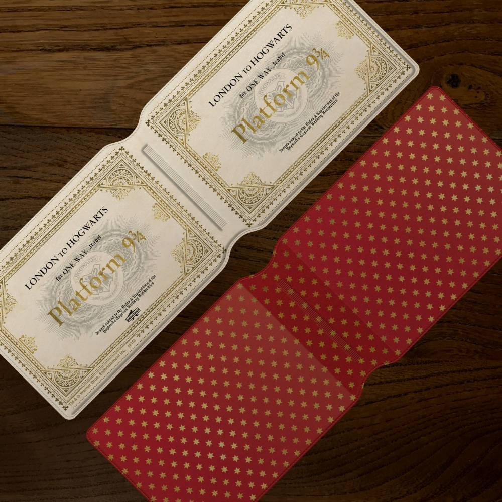 Hogwarts Express Ticket Card Holder