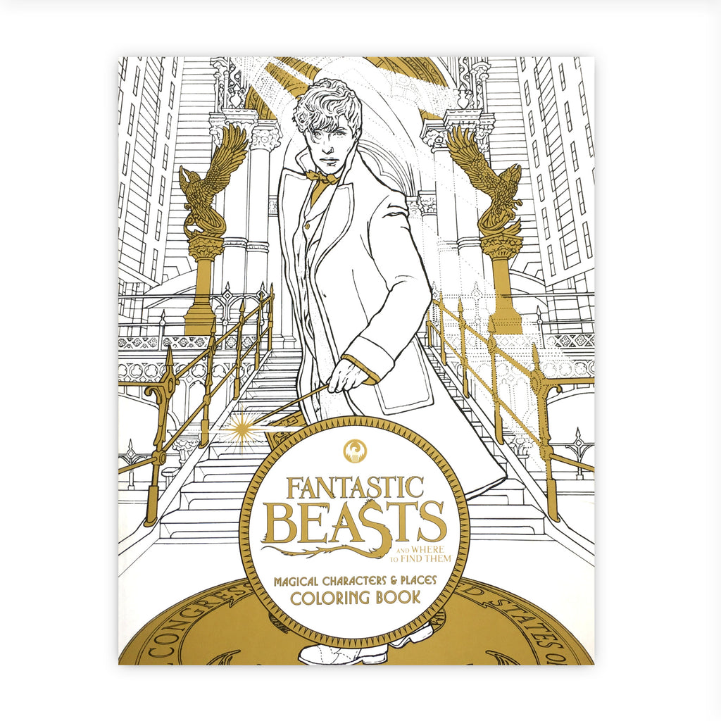 Fantastic Beasts and Where to Find Them Colouring Book: Magical Characters & Places