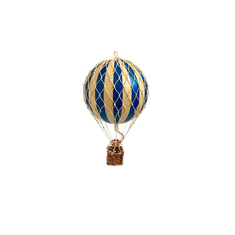 Floating The Skies Hot Air Balloon - Blue