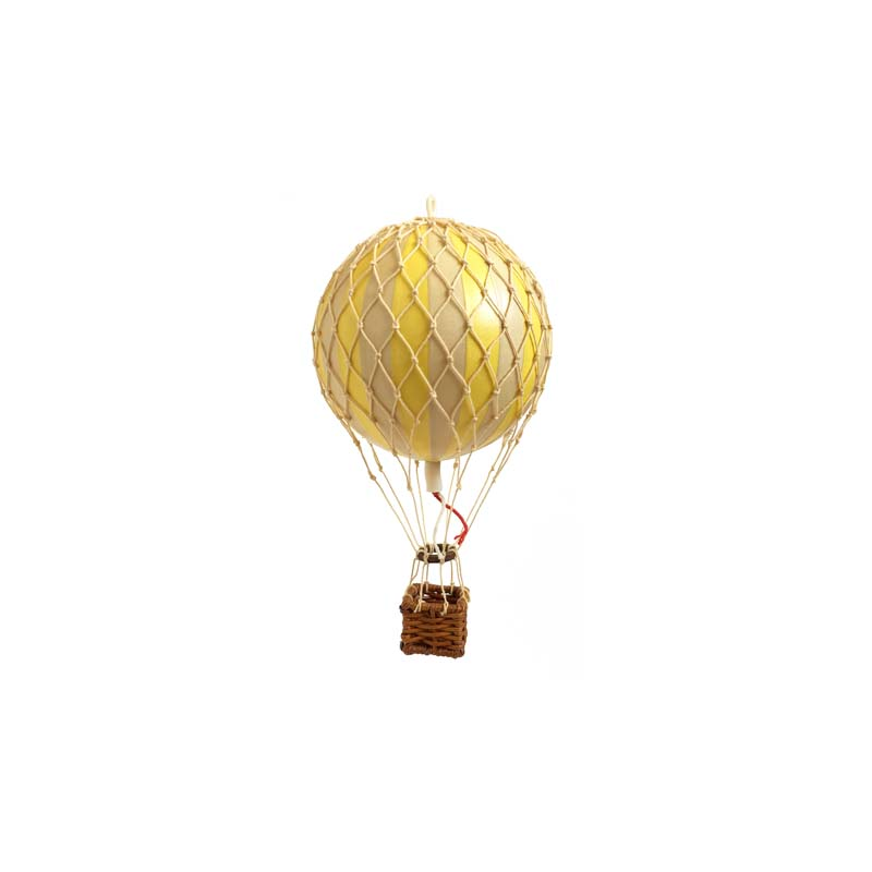 Floating The Skies Hot Air Balloon - True Yellow