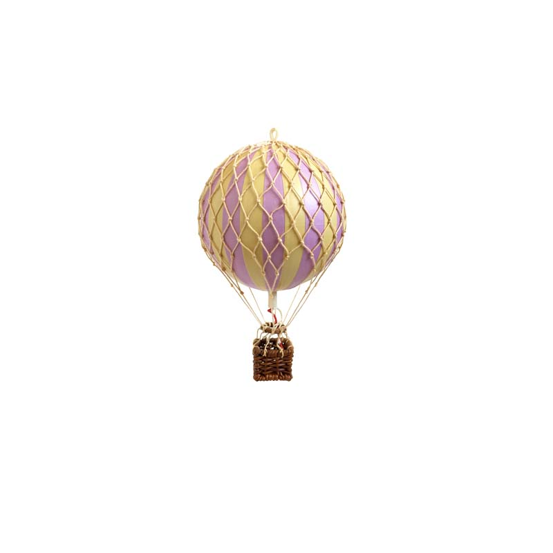 Floating The Skies Hot Air Balloon - Lavender