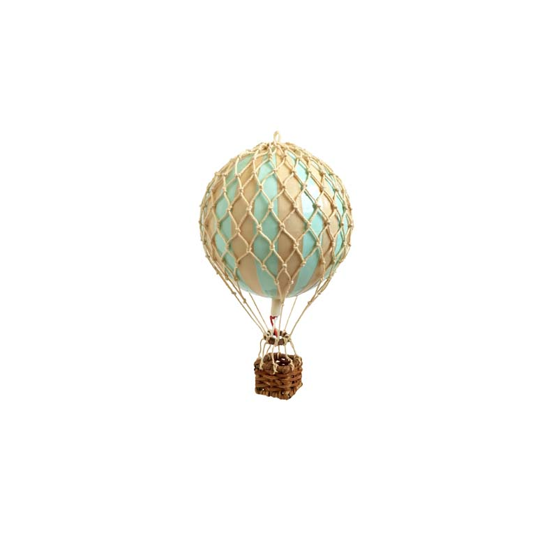 Floating The Skies Hot Air Balloon - Mint