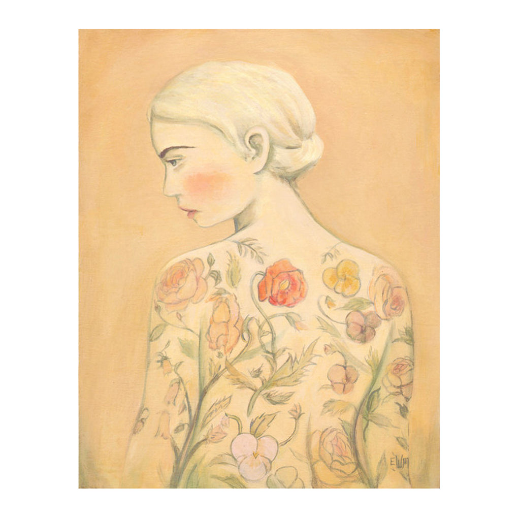 Emily Martin - Flora (The Tattooed Girl) Print
