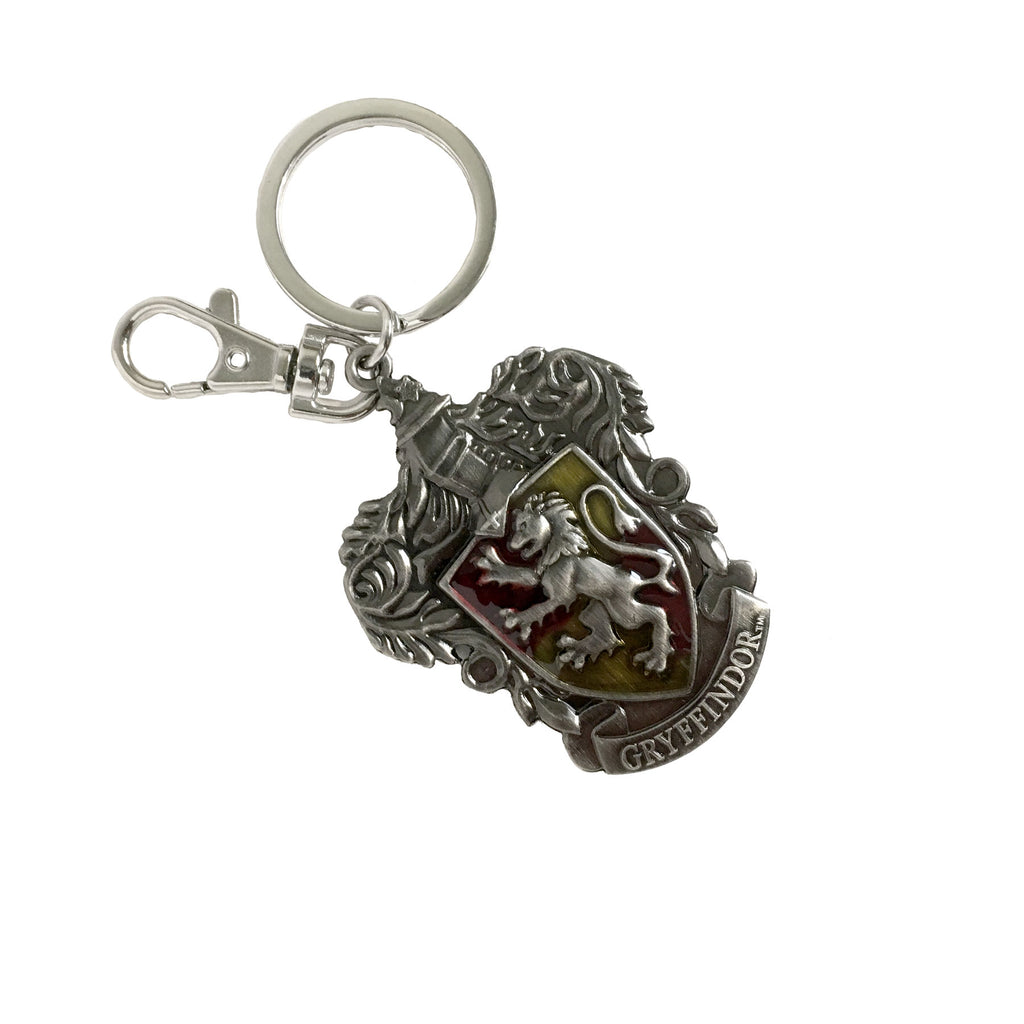 Pewter Key Ring - Gryffindor Crest