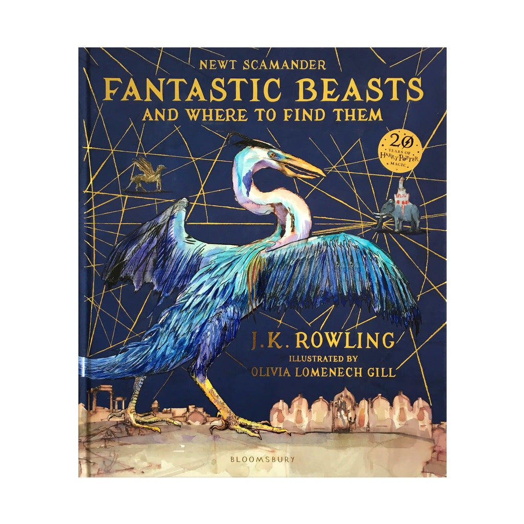 Fantastic Beasts and Where to Find Them Deluxe Illustrated Book