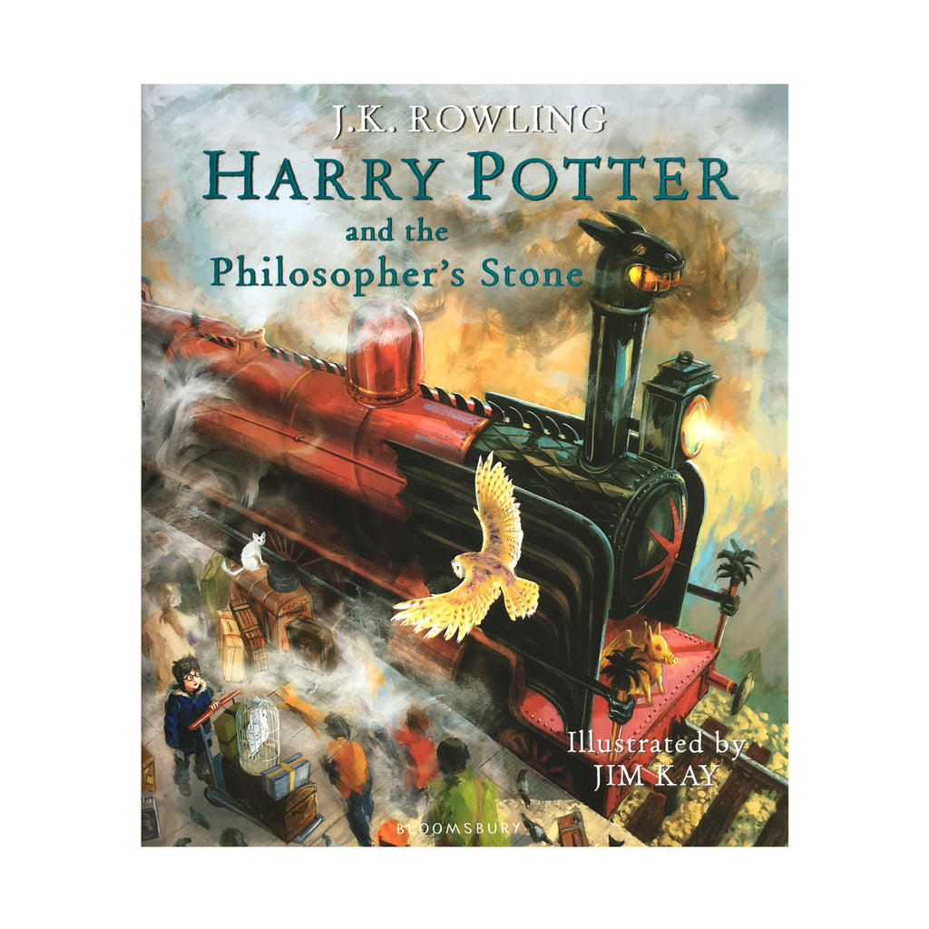 Harry Potter and the Philosopher's Stone Illustrated Edition - Hardcover