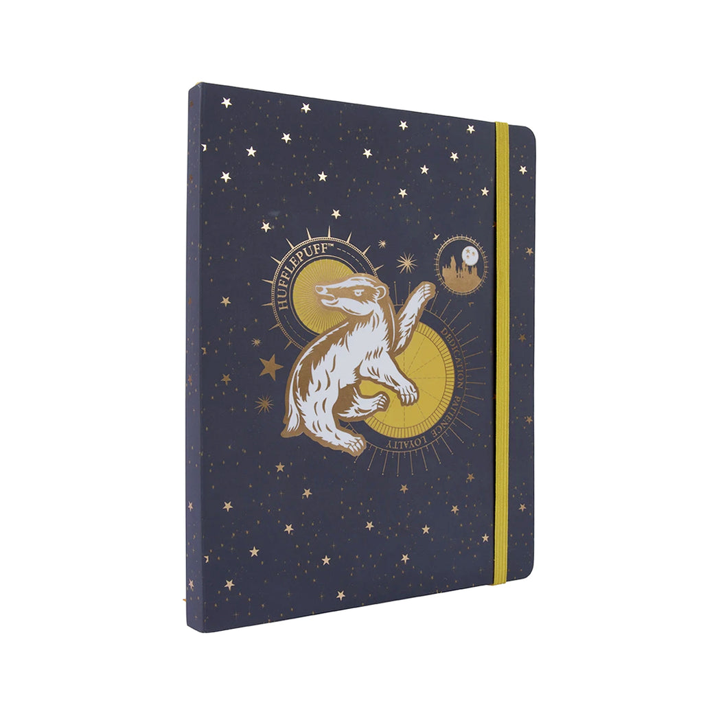 Hufflepuff Constellation Softcover Notebook
