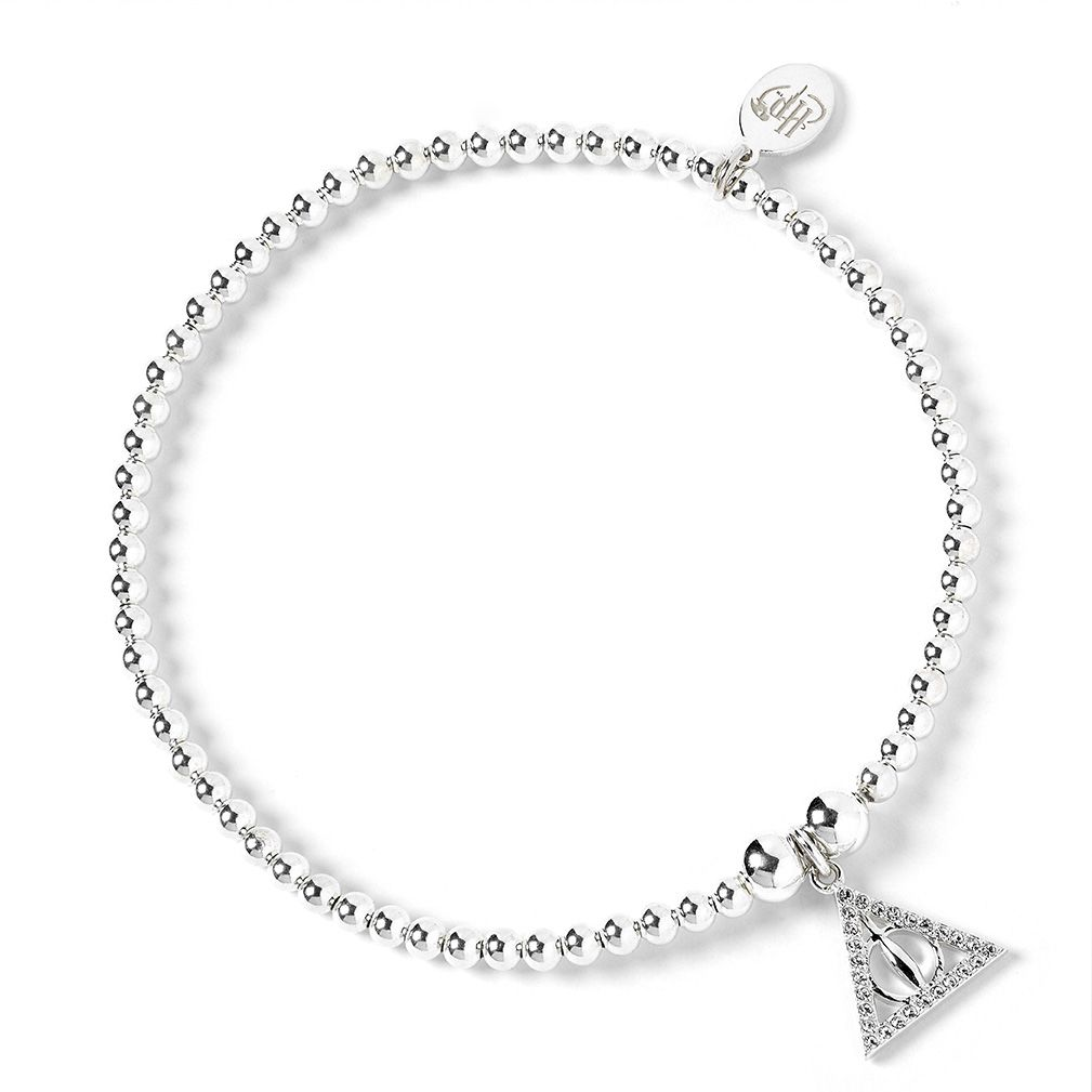 Swarovski Deathly Hallows Ball Bead Bracelet