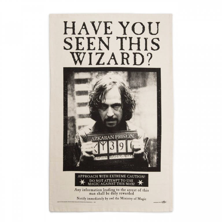 Have You Seen This Wizard? Tea Towel