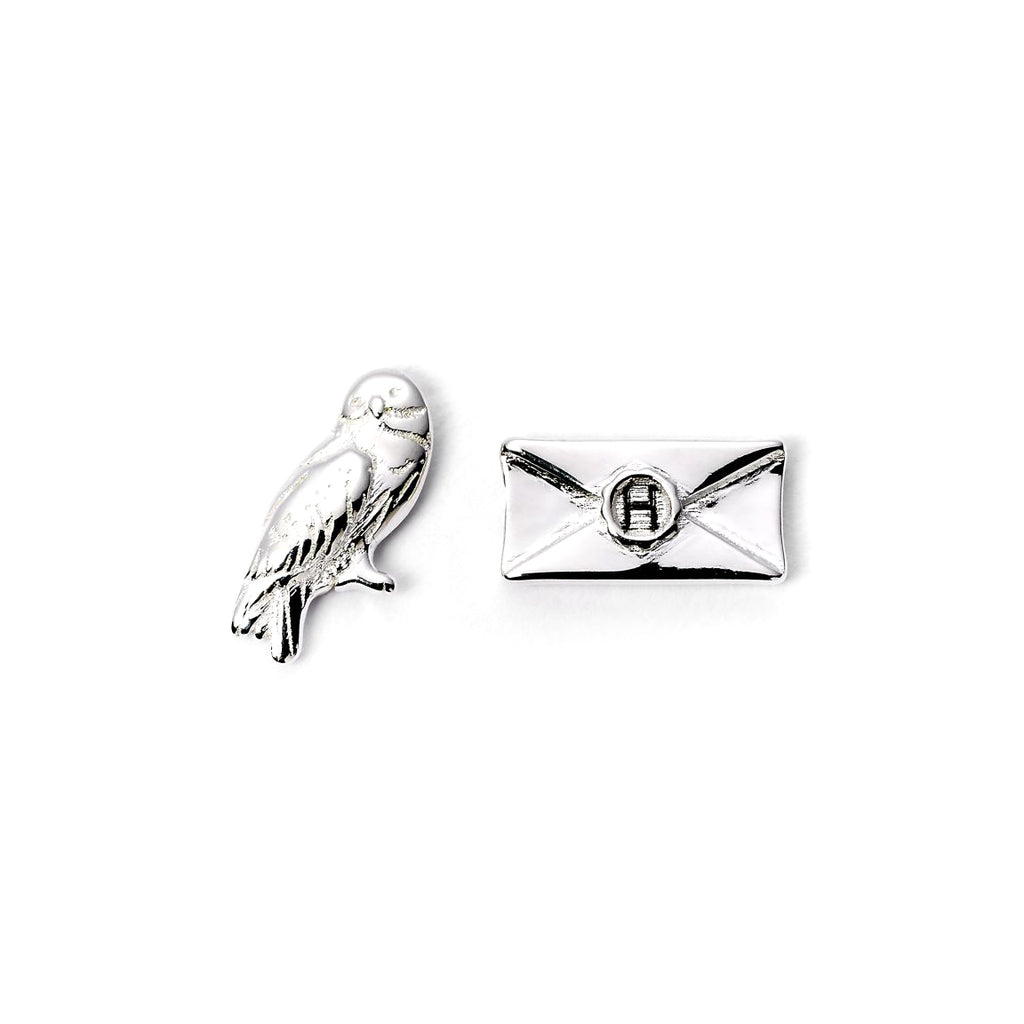Hedwig & Letter Earring Set