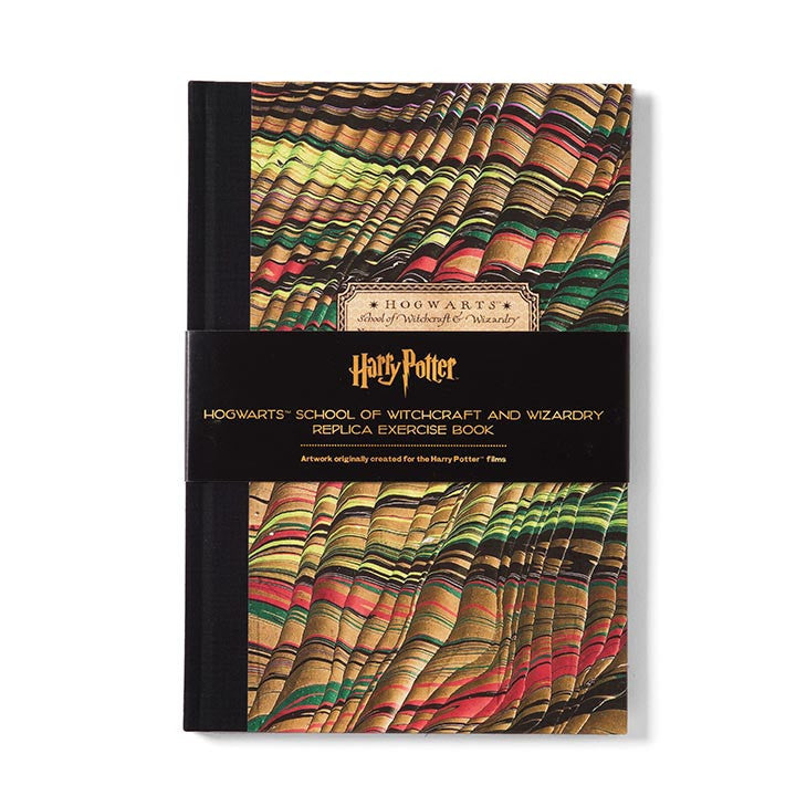 Hogwarts Exercise Book Green - Prop Replica