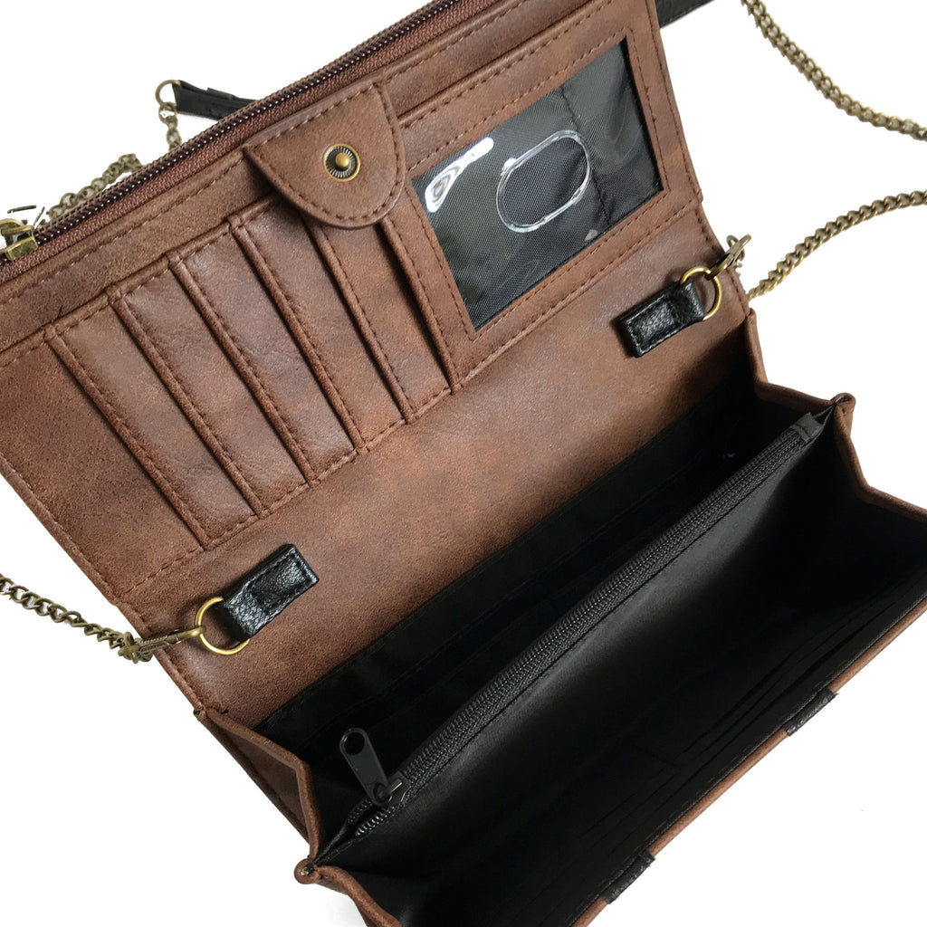 Hogwarts Trunk Foldover Clutch Wallet