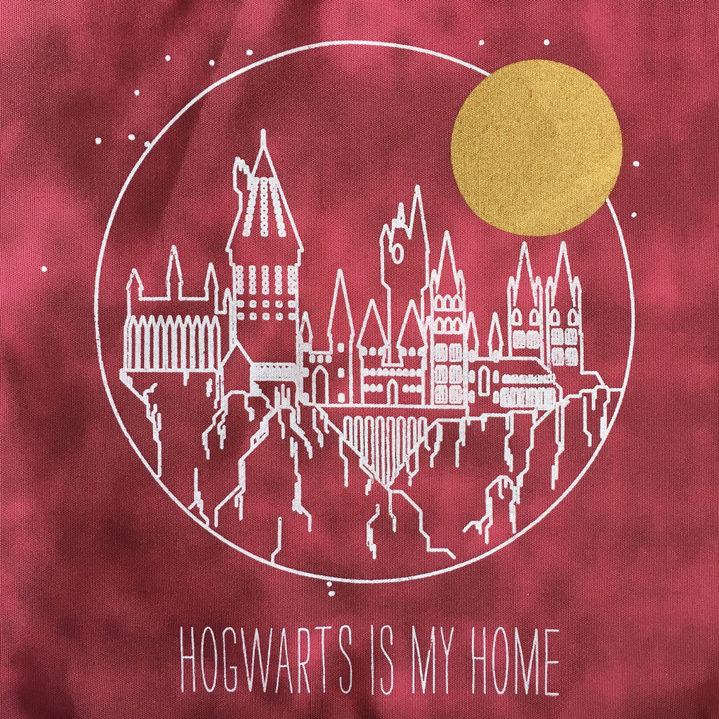 Hogwarts Is My Home Canvas Tote Bag