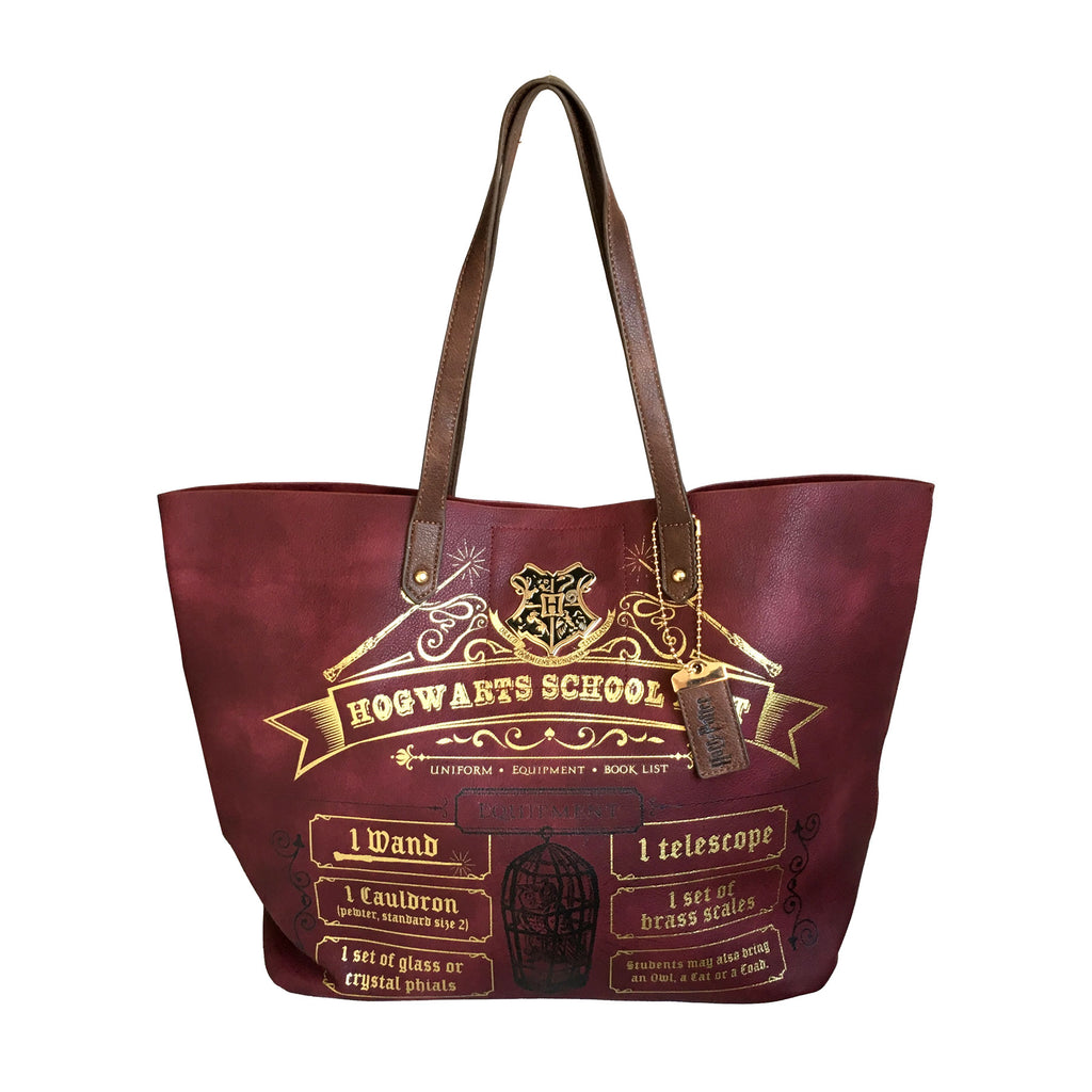 Hogwarts School List Tote Bag