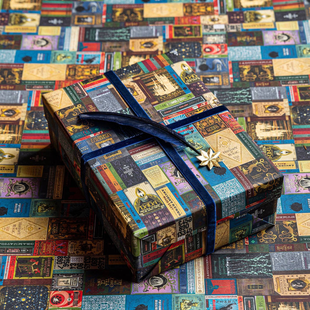 Hogwarts Book Covers Gift Wrap