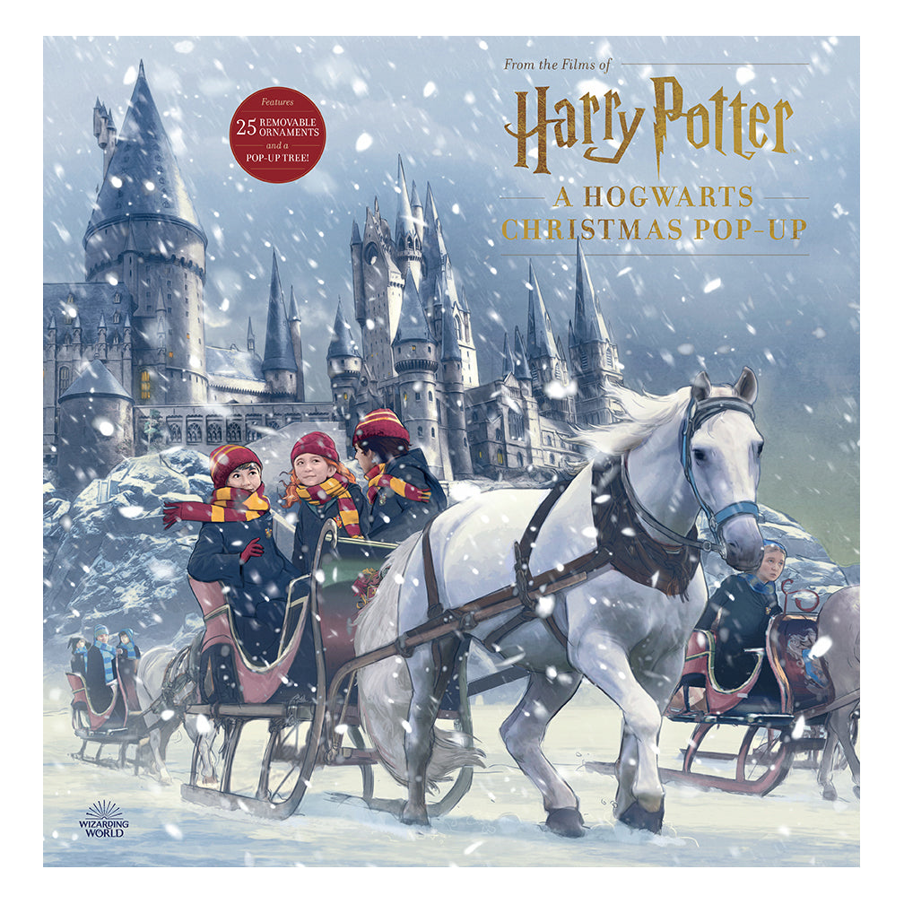 A Hogwarts Christmas Pop-Up Advent Calendar