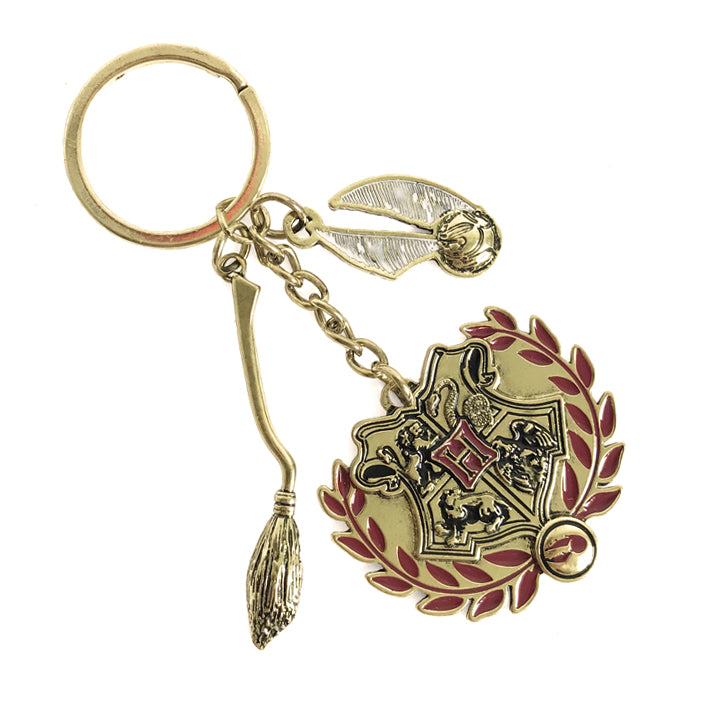 Hogwarts Quidditch Key Ring