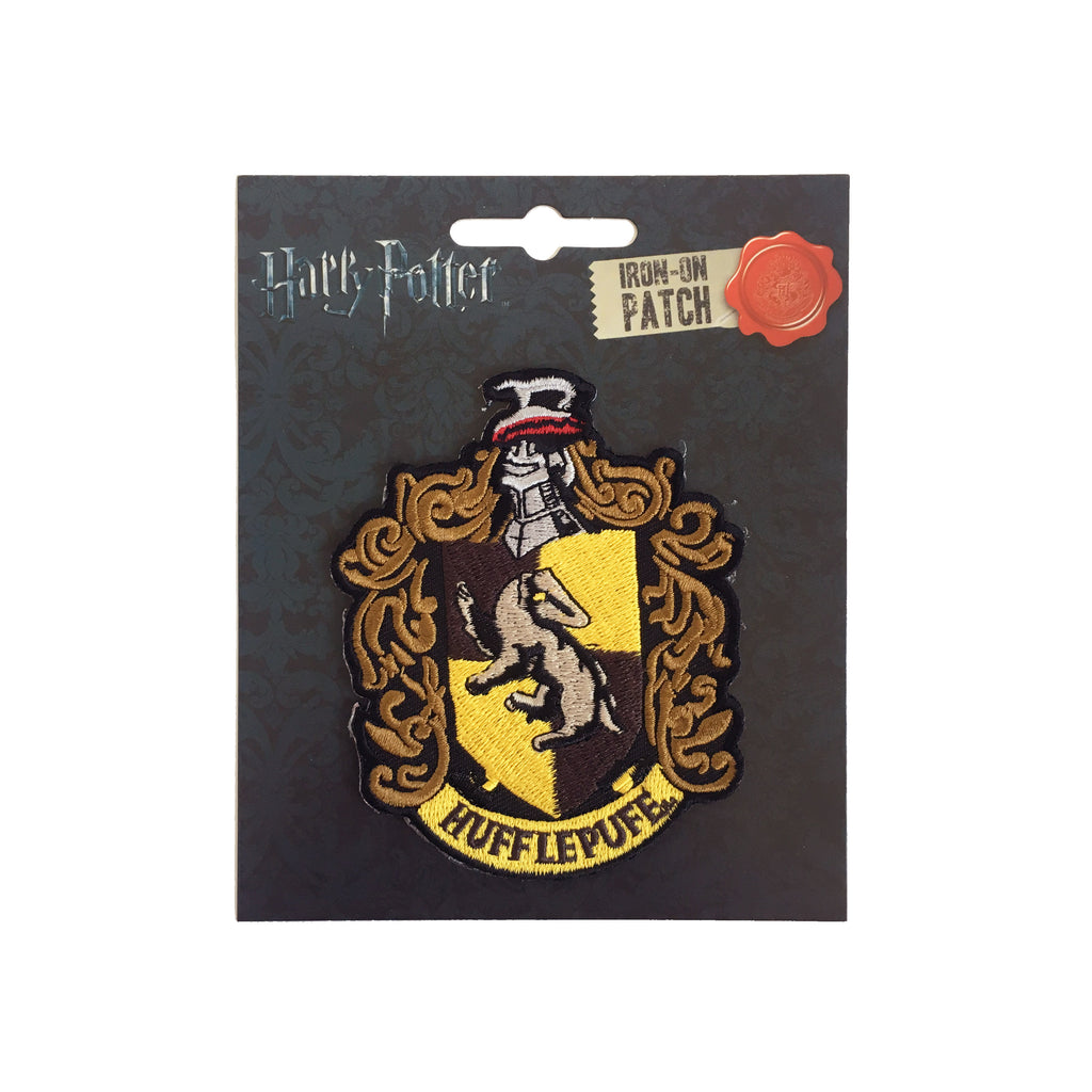 Hufflepuff Crest Iron-On Patch