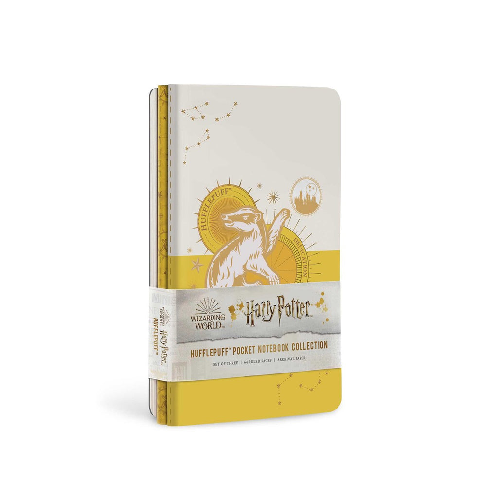 Hufflepuff Constellation Pocket Notebook Collection, Set of 3